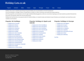 holiday-lets.co.uk