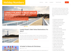holiday-numbers.co.uk