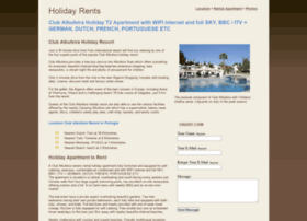 holiday-rents.com