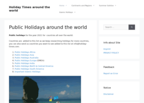 holiday-times.com