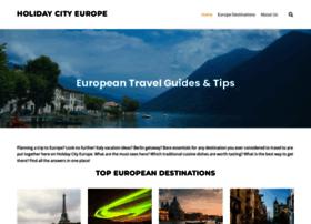holidaycityeurope.com