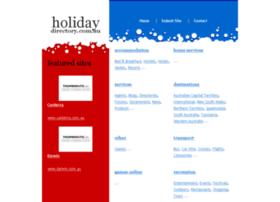holidaydirectory.com.au