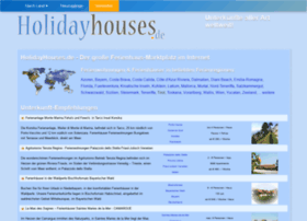 holidayhouses.de