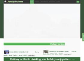 holidayinshimla.com