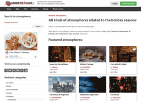 holidays.ambient-mixer.com