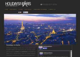 holidaysinparis.com