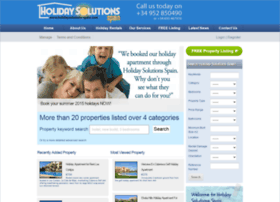 holidaysolutions-spain.com