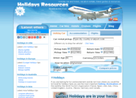 holidaysresources.com