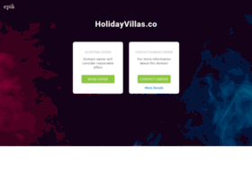 holidayvillas.co