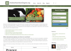 holisticnutritiondegree.org