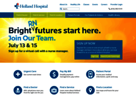 hollandhospital.org