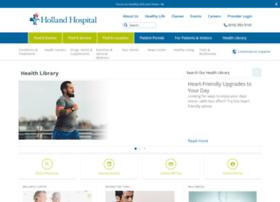 hollandhospital.staywellsolutionsonline.com
