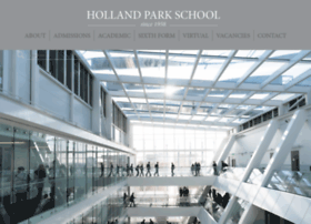 hollandparkschool.co.uk