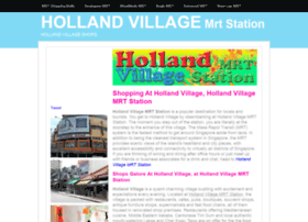 hollandvillagemrtstation.insingaporelocal.com