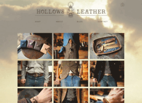 hollowsleather.com