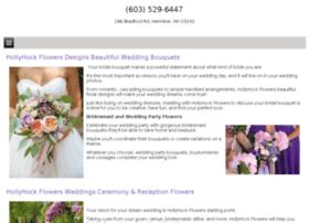 hollyhockflowersweddings.com