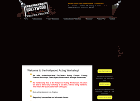 hollywoodactingworkshop.com