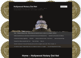 hollywoodnotary.net