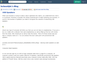 holmesfykc.blogs.experienceproject.com