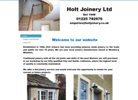 holtjoinery.co.uk