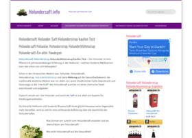 holundersaft.info