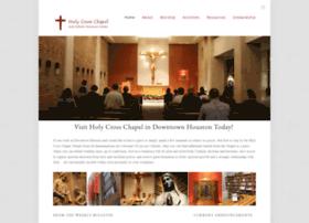 holycrosschapel.org