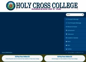 holycrosscollege.in
