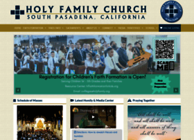 holyfamily.org