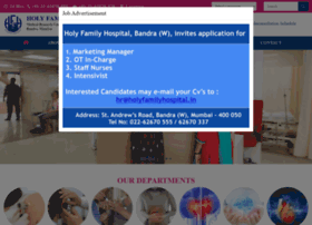 holyfamilyhospital.in