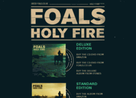 holyfire.foals.co.uk