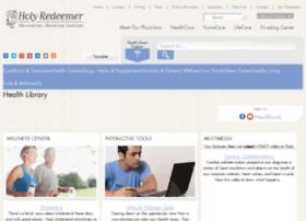 holyredeemer.staywellsolutionsonline.com