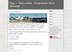 holyroodflat.com