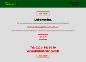 holz-leineweber.de