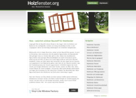holzfenster.org