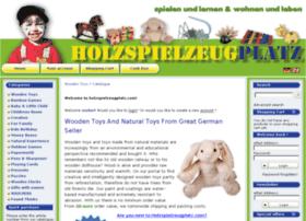 holzspielzeugplatz.com