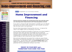 home-improvement-and-financing.com