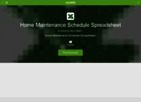 home-maintenance-schedule-spreadsheet.apponic.com