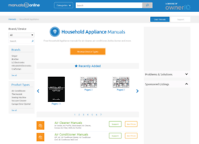 homeappliance.manualsonline.com