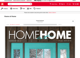 Homeathome.homehardware.ca