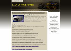 homebackuppower.co.za