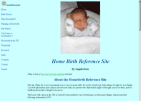 homebirth.org.uk