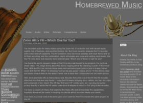 homebrewedmusic.com