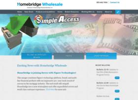 homebridgewholesale.com
