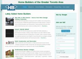 homebuildersgta.com