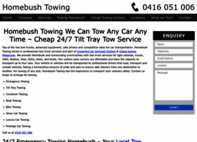 homebushtowing.com.au