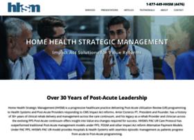 homehealthstrategicmanagement.com