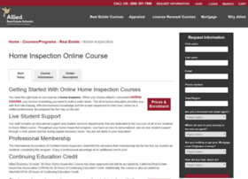 homeinspectioncourse.com