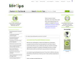 Homeinsurance.lifetips.com