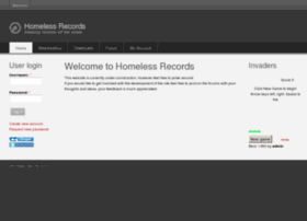 homelessrecords.co.uk