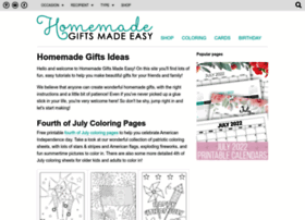 homemade-gifts-made-easy.com